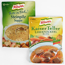 Knorr Suppen bis 2006