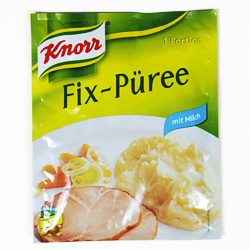 Knorr Fix-Püree ab Winter 2004